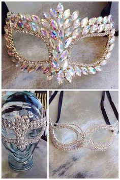 Engagement Waltz Steps - My kind of Mardi Gras Mask! My kind of Mardi Gras Mask! Mascarade Mask, Masquerade Theme, Masquerade Ball Party, Masquerade Dresses, Masquerade Costumes, Party Set, Mardi Gras Party, Mardi Gras Masks, Venetian Masks