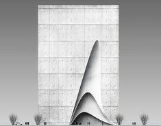 Ivan Turbin on Behance Architecture Student, Concept Architecture, Amazing Architecture, Architecture Design, Landscape Plane, Shop Facade, Student House, Arch Model, Plan Design