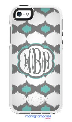 Custom OTTERBOX Symmetry iPhone 6 5 5S Case - iKat Moroccan - Monogrammed Personalized **INTRODUCTORY PRICE** on Etsy, $42.90