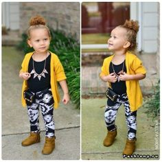Ain`t nothing Cuter thn Kids w. a LiL swag :)