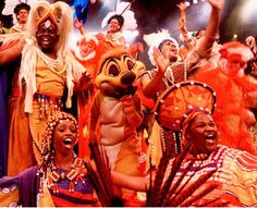 Festival of the Lion King at Disney's Animal Kingdom: One of the best experiences I've had with my girls