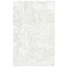 "Rug Studio Metro Silk White Area Rug Rug Size: 5' x 7'6"""