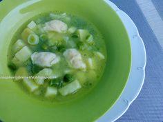Raspberrybrunette: Pórová polievka so zemiakmi   Výborná, veľmi jemná...