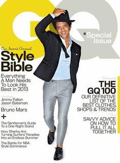 Bruno Mars - GQ Magazine Cover [United States] (April 2013)