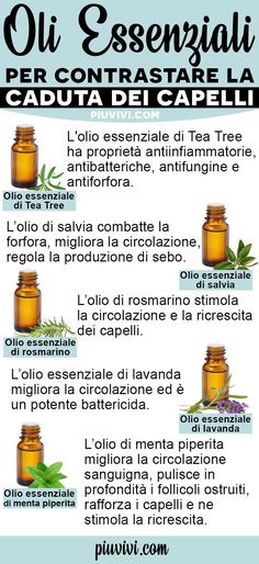 Essential oils to counteract hair loss and stimulate regrowth: . Tea Tree Essential Oil, Doterra Essential Oils, Natural Essential Oils, Beauty Make Up, Hair Beauty, Beauty Case, Tips Belleza, Beauty Recipe, Natural Life