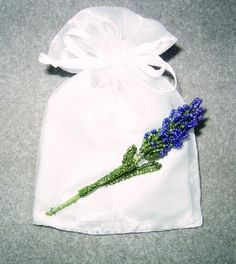 From Carl's Beading Table: Lavender sachet / Lavendel