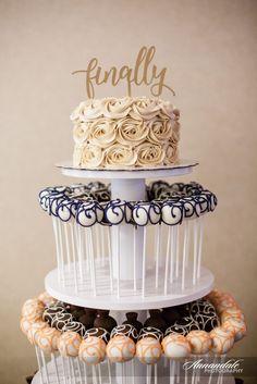 6 month wedding planning cake pops