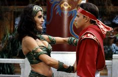 Mighty Morphin Power Rangers with Mariska Hartigay as Dulcea #josephporrodesigns