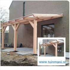 How to build an attached carport Garden Room, Side Porch, Carport Addition, House With Porch, Timber Frame Porch, Pergola With Roof, Patio Privacy Screen, Front Porch Pergola, Patio Design