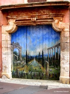 Luberon Villages of France: Colorful Windows & Doorways