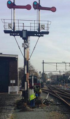 Seinwezen op de lokaalspoorlijn Medemblik - Hoorn | museumstoomtram.nl
