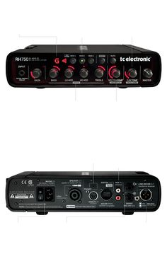 RH750 - Compact Head with Presets and Tuner | TC Electronic