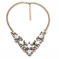 #AdoreWe Few Moda, Minimalistic Fashion Brands Online - Designer Few Moda Crystal Constellation Bib - AdoreWe.com