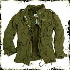 Regiment M65 Jacket Olive