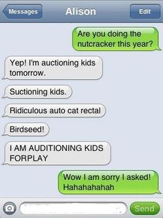 most hysterical autocorrect ever