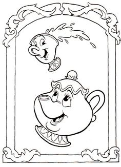 Beauty and the Beast coloring pages. Disney coloring pages. Coloring pages for kids. Thousands of free printable coloring pages for kids! Cartoon Coloring Pages, Disney Coloring Pages, Free Printable Coloring Pages, Coloring Book Pages, Coloring Pages For Kids, Kids Coloring, The Beast Movie, Princess Coloring, Disney Colors