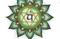 "Heart Chakra Tattoo Flash.png Ink on paper, 8x10""  STORE: https://tanglefire.etsy.com http://amandaleigh32.wix.com/amandaleigh https://www.facebook.com/artamandaleigh"