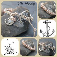 Freshwater Pearl Single Anchor Wrap www.facebook.com/the-birdcage
