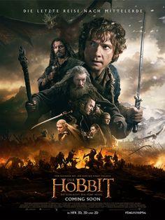 Der Hobbit: Die Schlacht der Fünf Heere ein Film von Peter Jackson mit Martin Freeman, Richard Armitage. Inhaltsangabe: Als die von Thorin Eichenschild (Richard Armitage) angeführte Zwergen-Truppe ihre Heimat von Smaug (Originalstimme: Benedict Cumberbatch) zurückfordert, entfesselt sie die zerstöre....