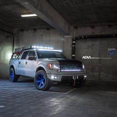 "ADV.1 Wheels on Instagram: ""B E A S T | @RoushPerformance Supercharged Ford Raptor @TAGMotorsports | @max_fotography @autoarmour | @bentmotorsports Wheel Specs: ADV6 M.V2 Hidden Hardware Finish: Polished Matte Peek-a-Blue 20x10.5 www.thewheelindustry.com #adv1 #thewheelindustry #adv1newstores #forgedwheels #customwheels #svt #truck #supercharged #fox #suspension #rigidindustries #roush #ford #raptor"""