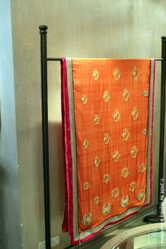 A perfect blend of the old and new! #JADEbyMK #Saree #india