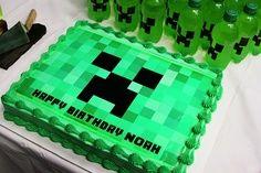 minecraft sheet cake