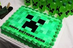 Minecraft Cake Toppers Party City