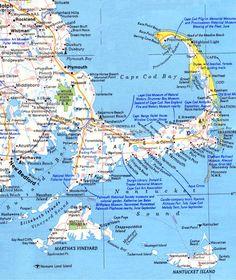 Cape Cod and South Shore beaches Cape Cod Vacation, Vacation Spots, Dream Vacations, Vacation Ideas, Marthas Vinyard, Cape Cod Map, Les Kennedy, Cape Cod Massachusetts, Cape Cod Beaches