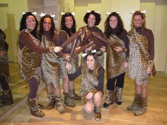 Caveman Outfit Ideas : Family halloween costume caveman ideas