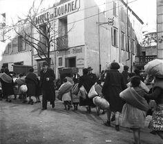 Emile Savitry. Réfugiés espagnols à Perpignan 1939