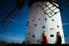 Windmill - models: Kasia & Alicia