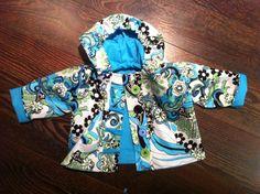 Baby Placket Jacket by shopsayitaintsew on Etsy, $35.00