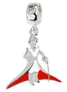 Charm Pequeno Príncipe resinado em prata 925