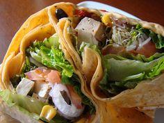 Tofu Wrap by Vegan Feast Catering, via Flickr