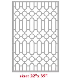 Stencil Boss | Prada Geometric Shapes Pattern Allover Pattern Wall Stencil Home Decor | Online Store Powered by Storenvy