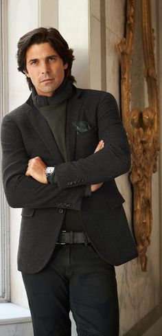 Ralph Lauren Men's Black Label ~ 2015 is defined by sharp tailoring and modern details