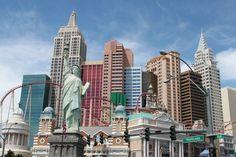 I love the New York, New York Hotel in Las Vegas!!