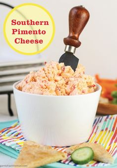 Southern Style Pimento Cheese Dip is a great party appetizer to share ...