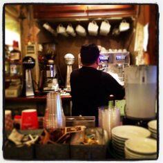 Morning coffee Hydra Pirate Bar