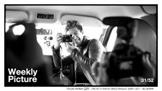 Week 31 of 52  Taylor Hanson, Taking image, Fools Banquet road-trip, Oklahoma 2014  Happy Birthday, to Old Man, Taylor Hanson on his 31st. This is a pic during our journey to the 2014 Fools Banquet songwriting retreat amidst a camera dual. Not sure who won