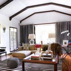 Livable luxury at its finest, courtesy of @ryanwhitedesigns. #thewhitespaceblog