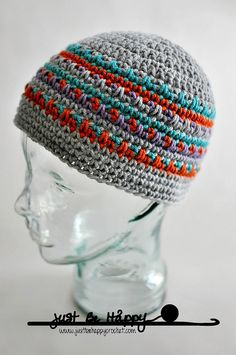 Crochet Beanie by Just Be Happy Crochet, via Flickr