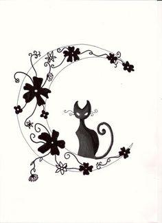 Moon Tattoo Designs   MadSCAR