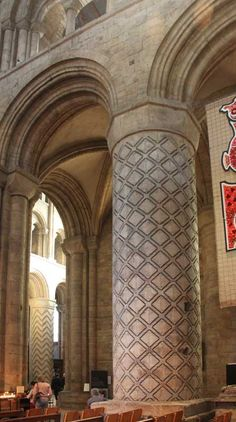 Ionic Order, St Johns College, Durham Cathedral, Romanesque, Flutes, Ancient Artifacts, Cathedrals, Spiral, England