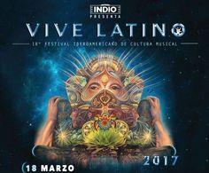 Vive Latino 2017 Anunció su Cartel Completo y Fechas del Evento Ya tenemos los detalles de los grupos y los fechas de uno de los festivales más reconocidos de música en México, el Vive Latino 2017 que ya llega a su edición número 18 se llevará cabo en el Foro Sol de la Cuidad de México los días18 y 19 de marzo del 2017, un recinto que se ha vuelto un referente del Rock en Latino América. Este año contaremos en el Vive Latino concontará con 5 plataformas musicales: Escenario Indio…