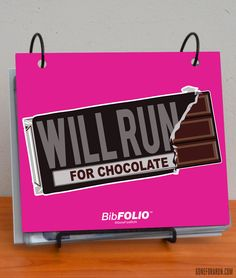 Display your race bibs in one of our BibFOLIOS to show off all of your hard work!