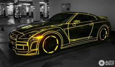Glow in the dark cars Nissan | Share