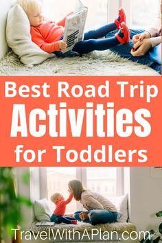 Road Trip Activities for Toddlers Toddler Travel, Travel With Kids, Family Travel, Best Family Vacation Spots, Family Road Trips, Vacation Ideas, Road Trip Activities, Toddler Activities, Road Trip Planner
