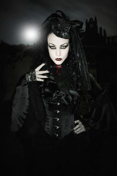 vi0letnocturne:  Lady Amaranth For the December issue of Lipstick Royalty.Shot on location in Whitby during the Goth weekend.Model: Lady Amaranth (model is wearing item's supplied by Veil of Visions) by*mutantstrain