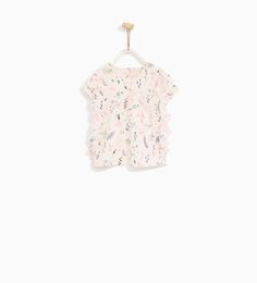 FRILLED T-SHIRT-NEW IN-BABY GIRL | 3 months - 4 years-KIDS | ZARA United States
